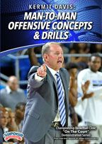 Kermit Davis: Man-to-Man Offensive Concepts & Drills