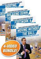Joe Wootten's Basketball Camp Video 4-Pack